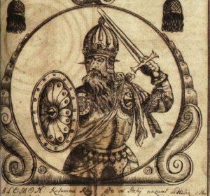 Palemonas ( XVIII a. piešinys)